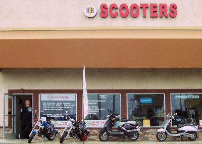 Commercial Mirror Install Huntington Beach Scooters